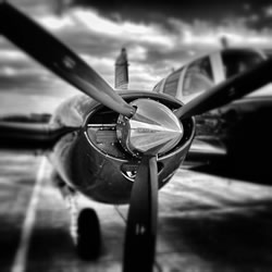 Come for a flight in a propeller plane, fix your fear of flying, Suffolk